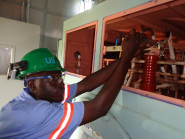 power plant maintenance in Africa